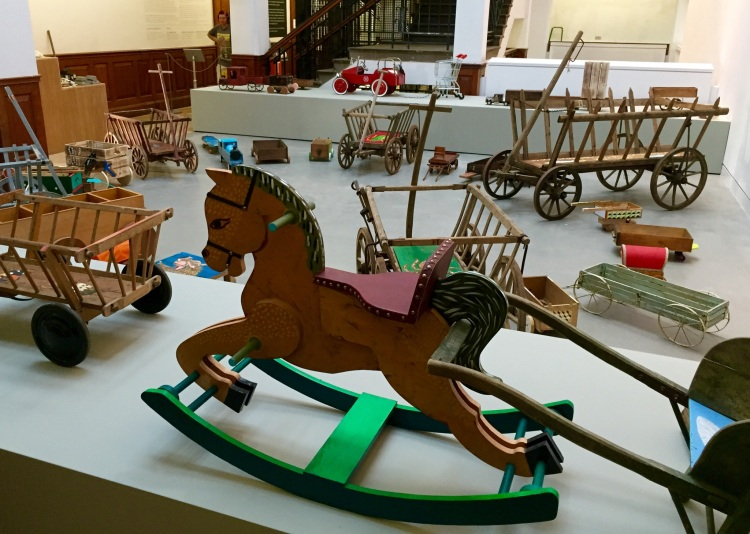 Lubaina Himid and Susan Walsh, The Feast Wagons, 2015 (courtesy the Artists)
