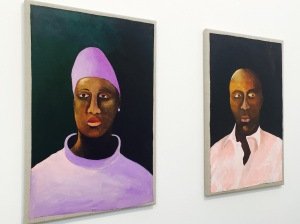 Lubaina Himid's work at Hollybush Gardens.